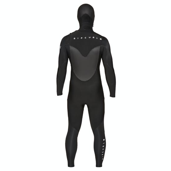 Rip Curl Flashbomb 4/3mm Chest Zip Hooded Wetsuit