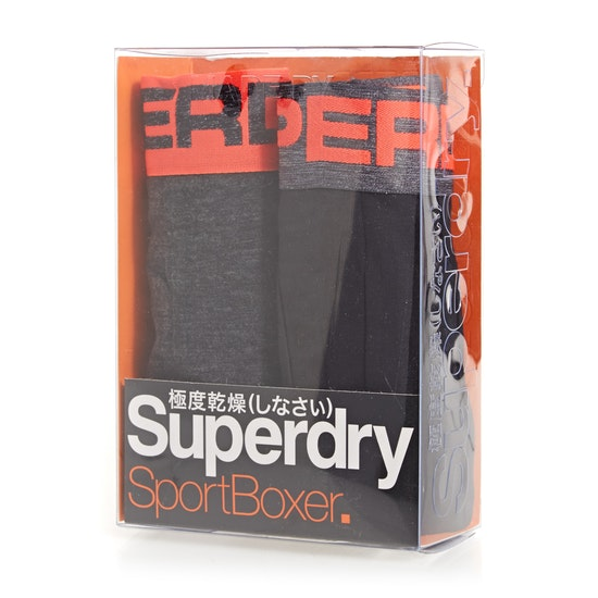 Superdry Sport Double Pack Boxershorts