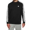 Adidas Originals 3 Stripes Crew Sweater - Black