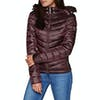 Superdry Hooded Luxe Chevron Fuji Womens Jacket - Deep Ruby