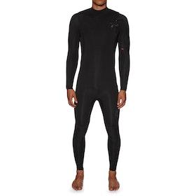 Xcel Comp X 4/3mm Chest Zip Wetsuit - Black