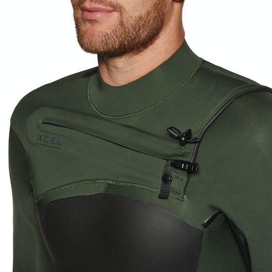 Xcel Axis X 5/4mm Chest Zip Wetsuit