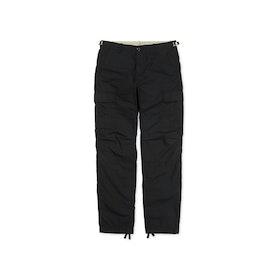 Pantalon Cargo Carhartt Aviation - Black Rinsed
