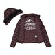Blusão Senhora Superdry Hooded Luxe Chevron Fuji