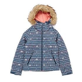 Roxy Jet Ski Girls Snow Jacket - Crown Blue