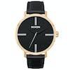 Nixon Arrow Leather Womens Watch - Gold / Black / Silver