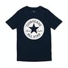 T-Shirt a Manica Corta Converse Chuck Taylor Script - Obsidian
