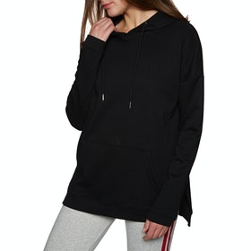 SWELL Hanover Longline Womens Pullover Hoody - Black