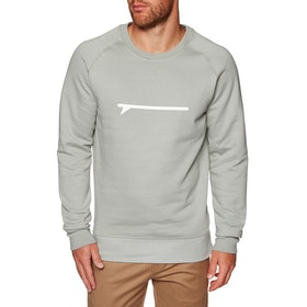 Surf Perimeters The Icon Crew Sweater - Granite Grey