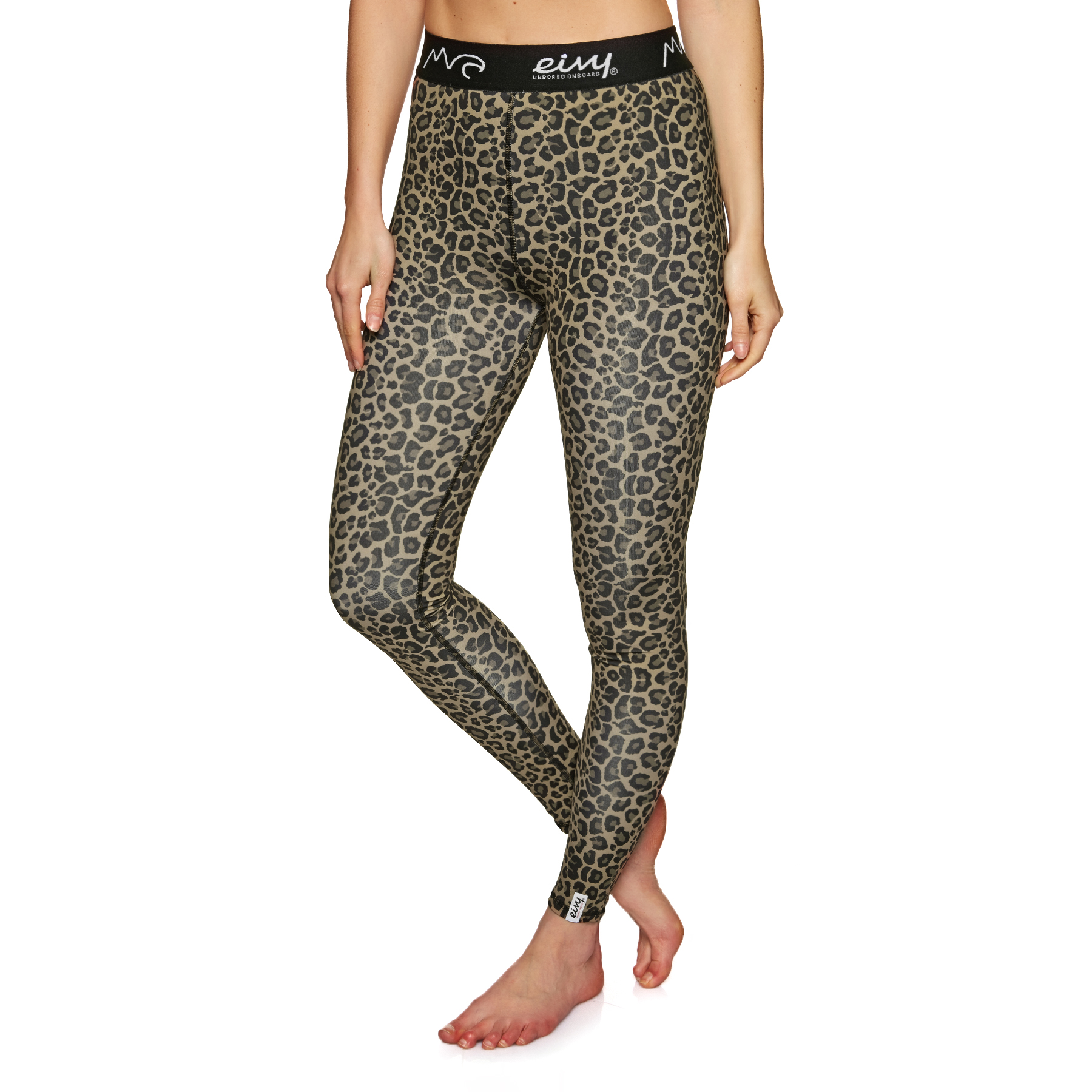 All Sizes Eivy Icecold Tights Leopard L Womens Base Layer Leggings