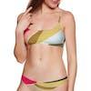 Billabong Sungazer Mini Crop Bikini Top - Multi