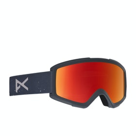 Anon Helix 2.0 W spare Snow Goggles - Rush/red Solex
