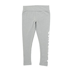 Converse Star Chevron Girls Leggings - Dark Grey Heather
