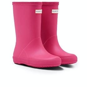 Hunter First Classic Kids Wellies - Bright Pink
