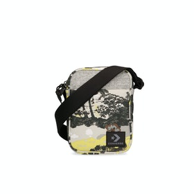 Converse Tropical Cross Body Messenger Bag - Cool Grey