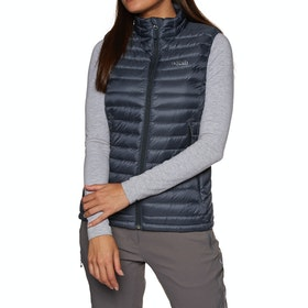 Rab Microlight Vest Womens Body Warmer - Steel Passata