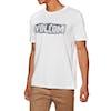 Volcom Edge Bsc Short Sleeve T-Shirt - White