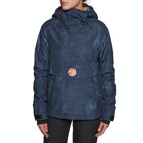 O'Neill Frozen Wave Anorak Womens Snow Jacket - Blue