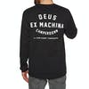 Deus Ex Machina Camperdown T-Shirt Lange Mouwen - Black