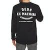Deus Ex Machina Camperdown Langarm-T-Shirt - Black
