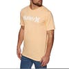 Hurley One And Only Solid Short Sleeve T-Shirt - Melon Tint Htr