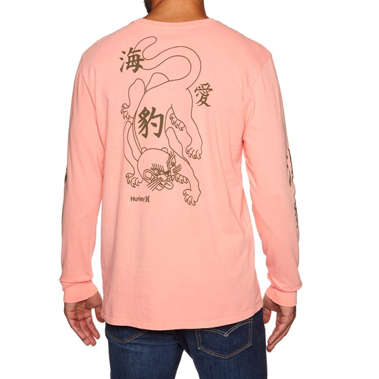 Hurley Heavy Kitty Long Sleeve T-Shirt