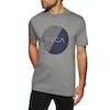RVCA Motors Fill Short Sleeve T-Shirt - Athletic Heather