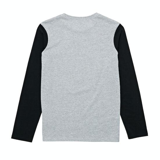 T-Shirt de Manga Comprida Boys Quiksilver Shook Up