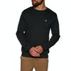 SWELL Layback Crew Sweater - Black