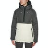 Holden Side Zip Puffer Womens Snow Jacket - Shadow Bone