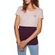 O'Neill Colour Block Womens Short Sleeve T-Shirt