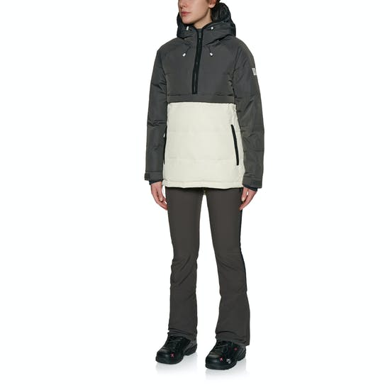 Holden Side Zip Puffer Womens Snow Jacket