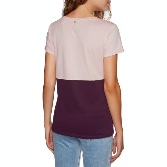O'Neill Colour Block Ladies Short Sleeve T-Shirt