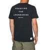 Surf Perimeters Redefine Print Short Sleeve T-Shirt - Black