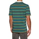 Camiseta de manga corta Welcome Surf Stripe Embroidered Knit