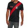 Thrasher Futbol Jersey Short Sleeve T-Shirt - Black Red