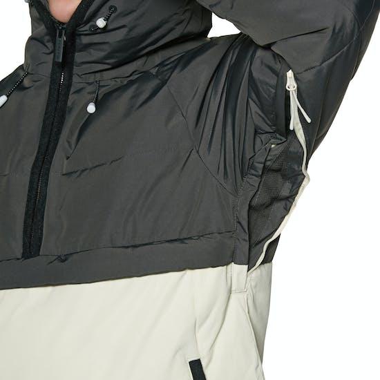 Chaqueta de snowboard Mujer Holden Side Zip Puffer