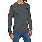 Superdry Orange Label Sport Stripe Long Sleeve T-Shirt