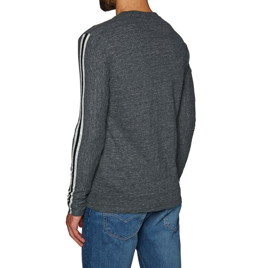 Superdry Orange Label Sport Stripe T-Shirt Lange Mouwen