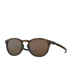 Oakley Pitchman R Sunglasses - Polished Brown Tortoise~prizm Tungsten Polarized