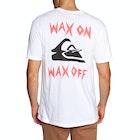 Quiksilver Wax Job Mens Short Sleeve T-Shirt