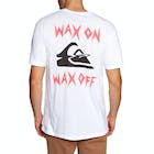 Quiksilver Wax Job Mens Short Sleeve T-Shirt