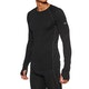 Top de base interior Icebreaker Mens 150 Zone Ls Crewe