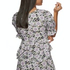 The Hidden Way Floral Pattern Ladies Top