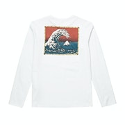 Quiksilver The Original Mountain And Waves Boys Long Sleeve T-Shirt