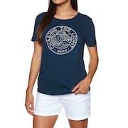 Roxy Red Sunset Ladies Short Sleeve T-Shirt