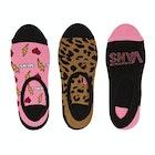 Vans Animal House Canoodles 3 Pack Ladies Socks