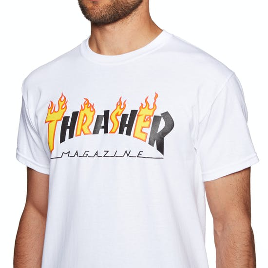Thrasher Flame Mag Short Sleeve T-Shirt