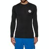Rip Curl Corpo Long Sleeve Rash Vest - Black