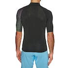 Billabong Contrast Short Sleeve Printed Mens Rash Vest